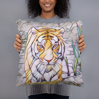Bengal Tiger Art Pillow